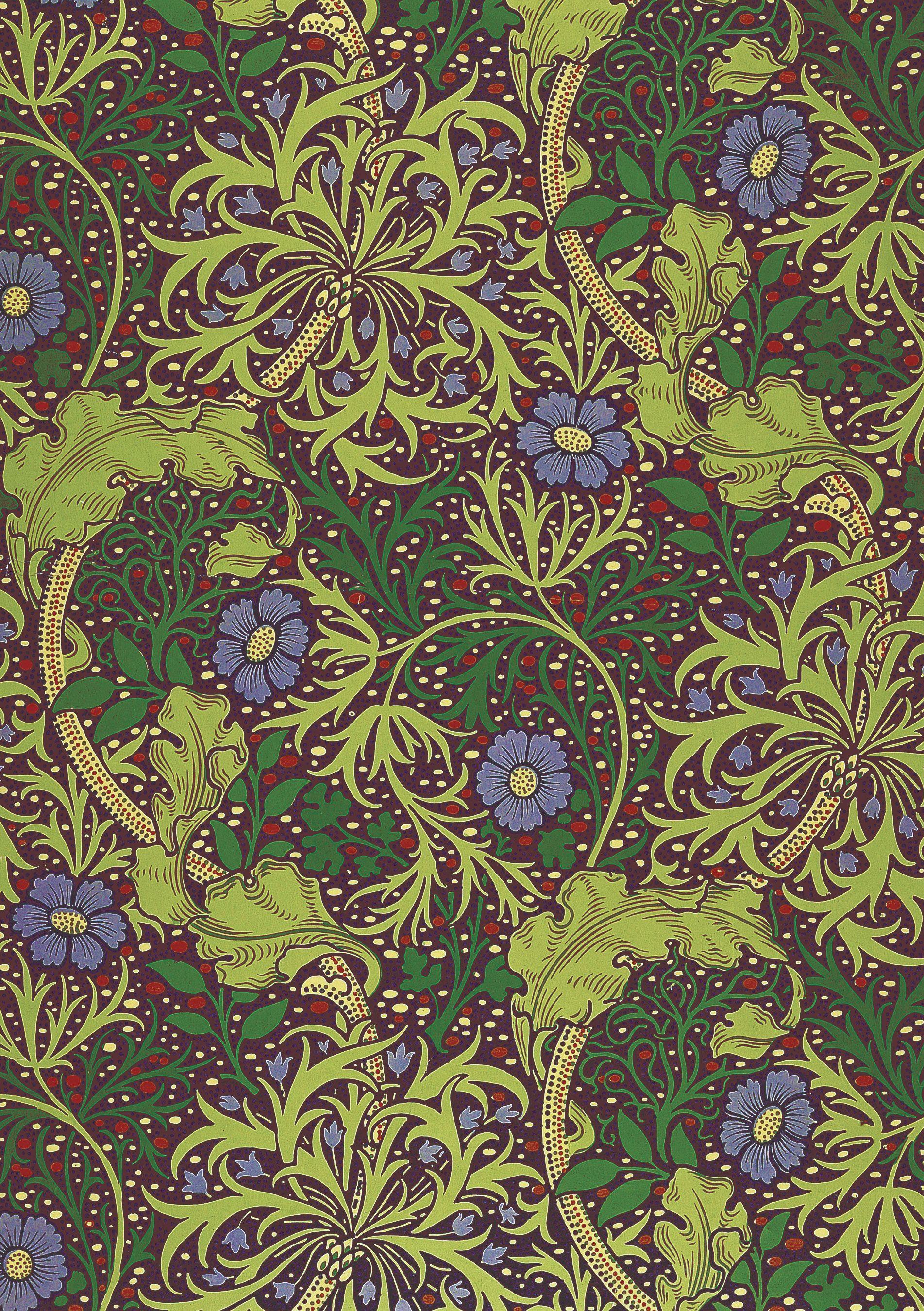 Recolor William Morris Print William Morris Designs William