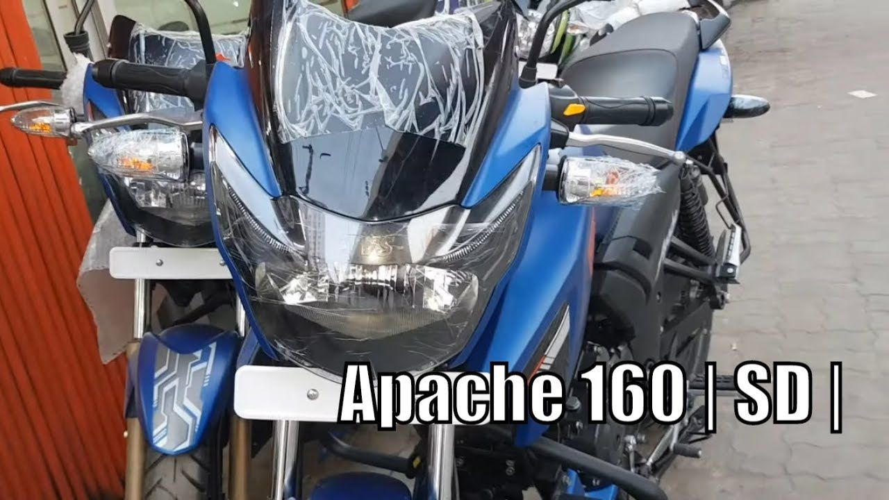 Pin On Apache Rtr 160 Favorite Matted Blue Tvs Apache Rtr