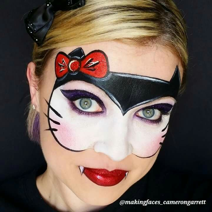 vampire hello kitty mask by cameron garrett face. Black Bedroom Furniture Sets. Home Design Ideas