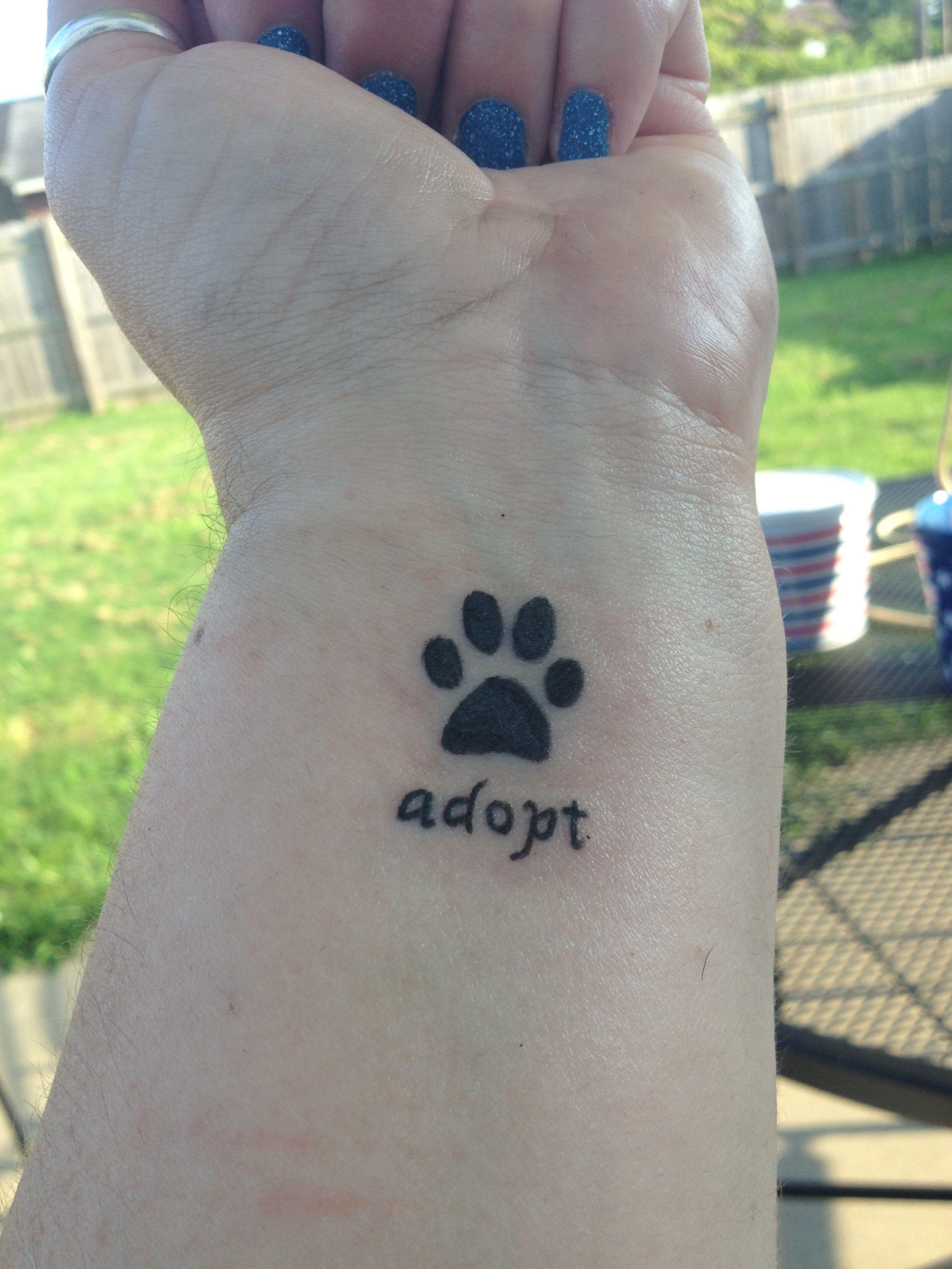Tattooed bear raw dawgs