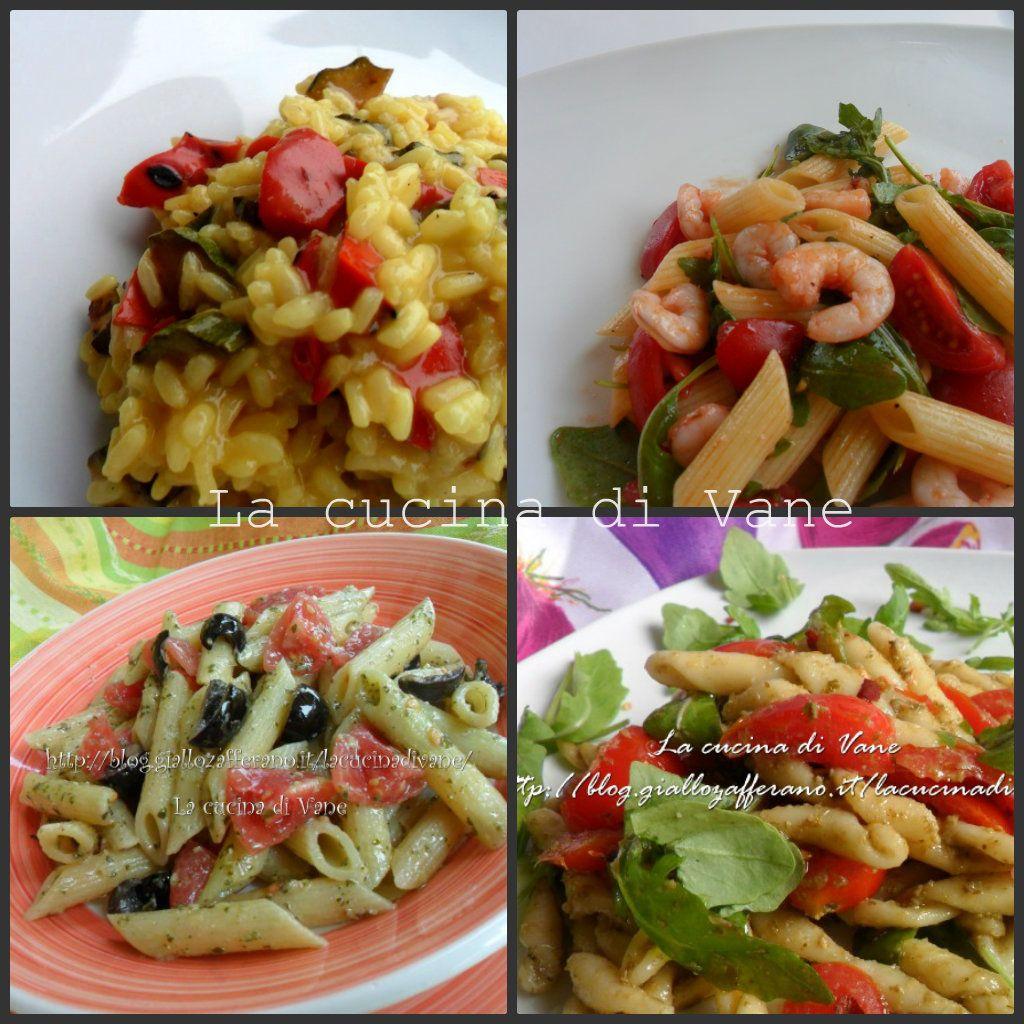 Ricette primi piatti freddi estivi insalate pasta for Primi piatti particolari