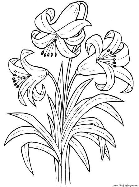 Dibujos de canastas con flores y mariposas para colorear - Imagui ...