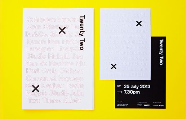 Design Minimal Typography Huisstijl Layout Inspiratie