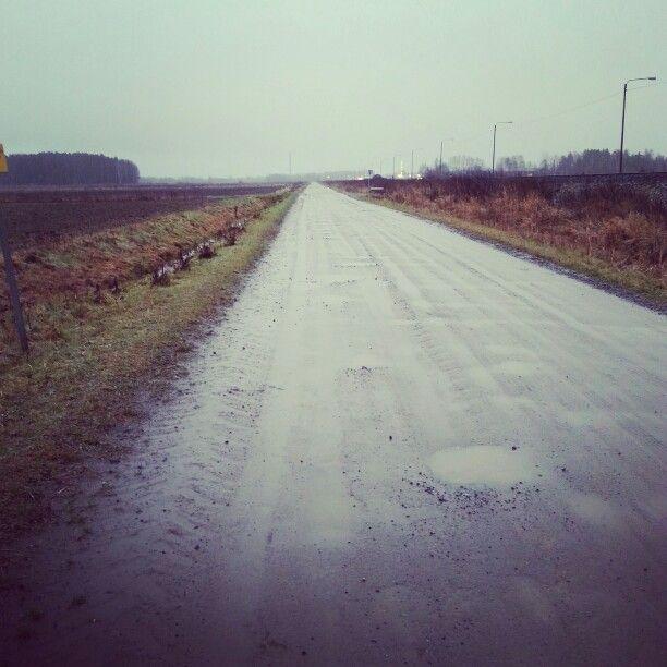 Gray november. (Photo by Elina Hakola)