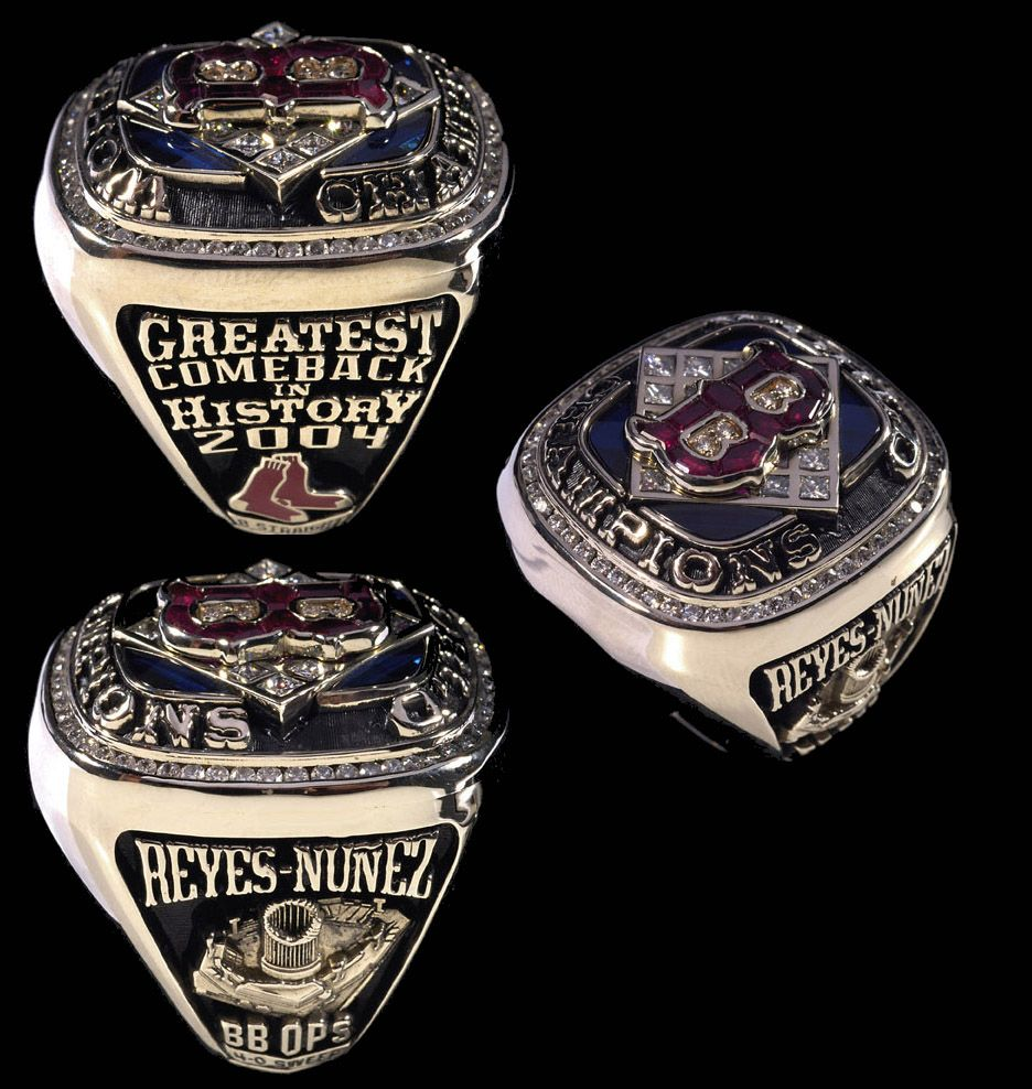 Boston Red Sox 2004 World Series Ring Boston Sports