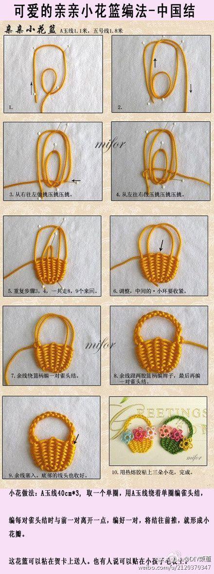 Embroidered Basket Weave | Bordados | Pinterest | Bordado, Cestas de ...