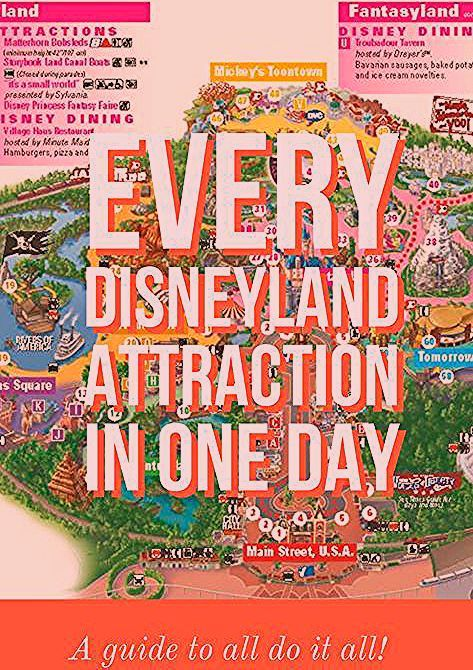 Photo of All 61 Disneyland Attractions in 1 Day!