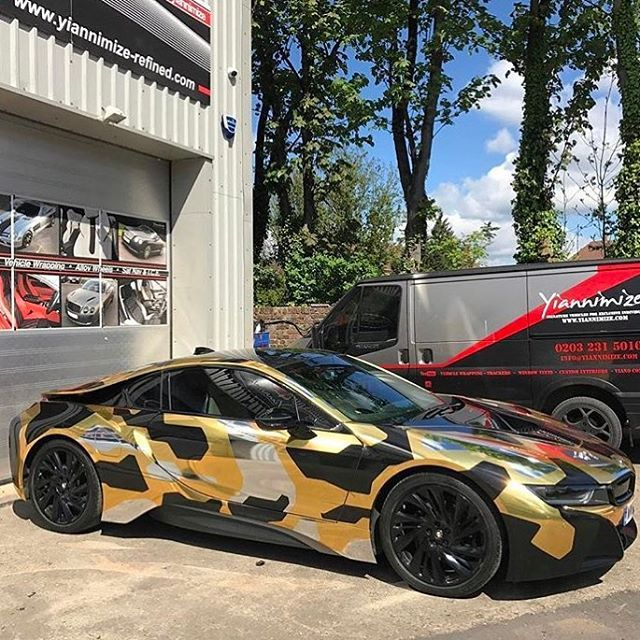 Pin By Neci Smith On Camo Cars Bmw I8 Bmw