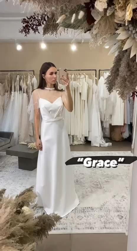 Photo of Wedding Dresses A Line Online Shop Rent Liza Ray Bridal Showroom NYC Manhattan Grace Price: $1,950