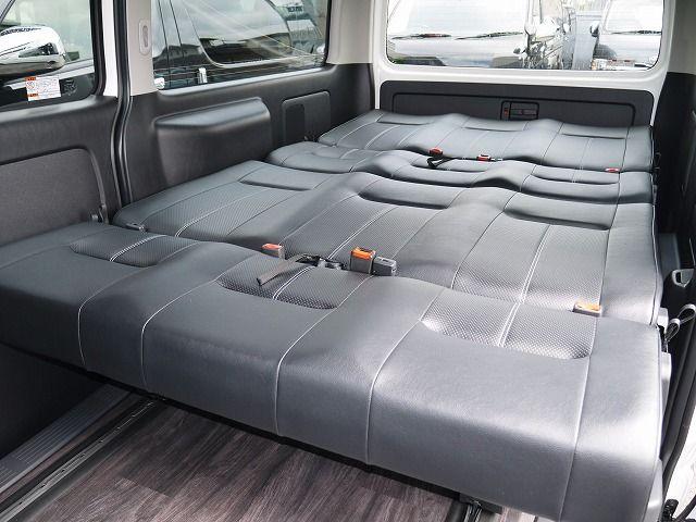 ハイエース 維持費の安い4ナンバー8人乗りfd Box5に1300mmシートデビュー フレックス ドリーム ハイエース ハイエース ワゴン キャンピングカー