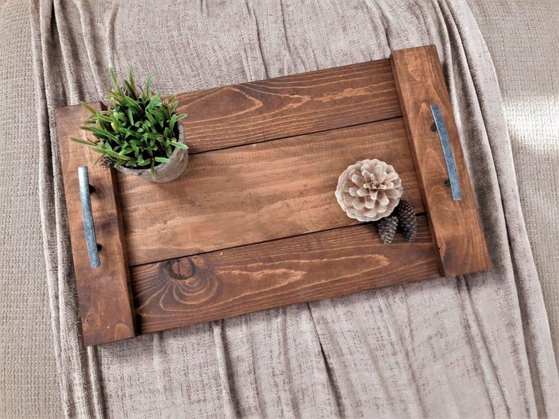 Pin On Handcrafted Wood Decor Trays Table Decor