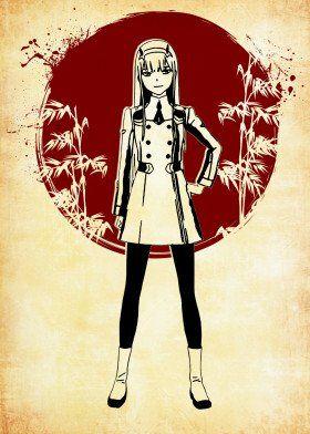 Paper And Moon poster prints by fujiwara   Displate   Displate thumbnail