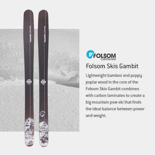 Folsom Skis Gambit Carbon Ski