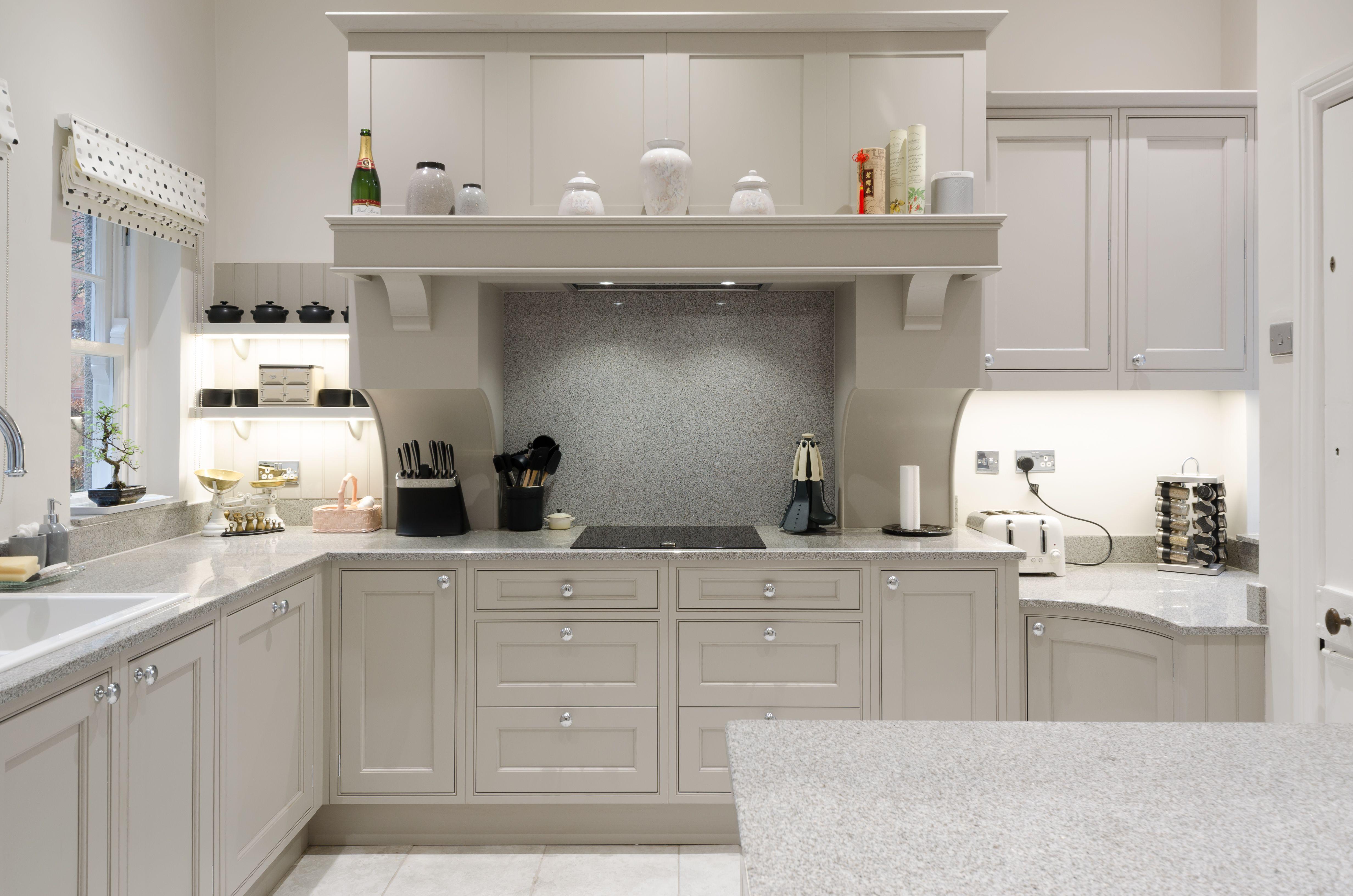 Best Wentworth Painted Purbeck Stone Kitchen Kitchen Cabinets 400 x 300