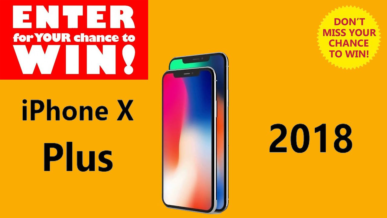 Giveaway 2018 iphone august