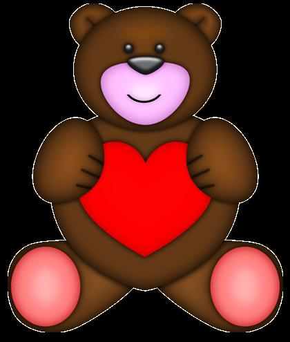 adult bear clipart