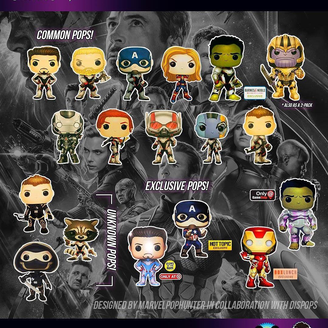 All Avengers Endgame Funko Pops | Marvel | Funko pop