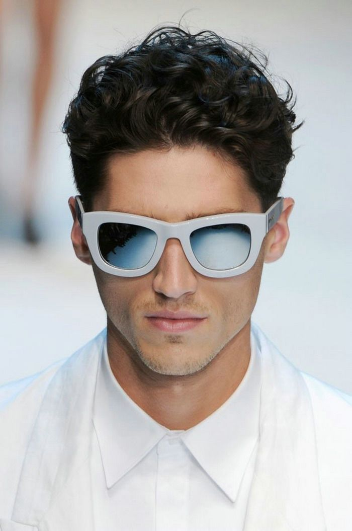 Long Curl Current Mens Hairstyles Medium Mens Hairstyles