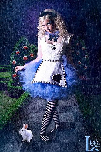 Alice Im Wunderland Kostüm Selber Machen Creepy Costumes Pinterest