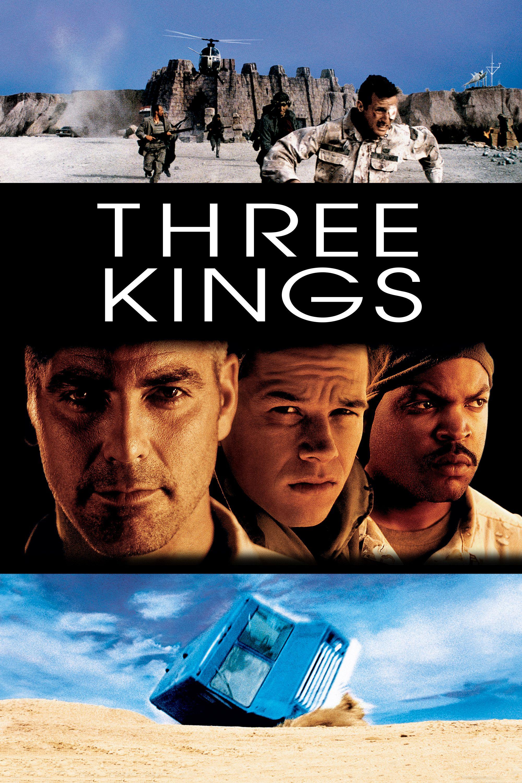 Three Kings 1999 Movie Poster Said Taghmaoui Jamie Kennedy