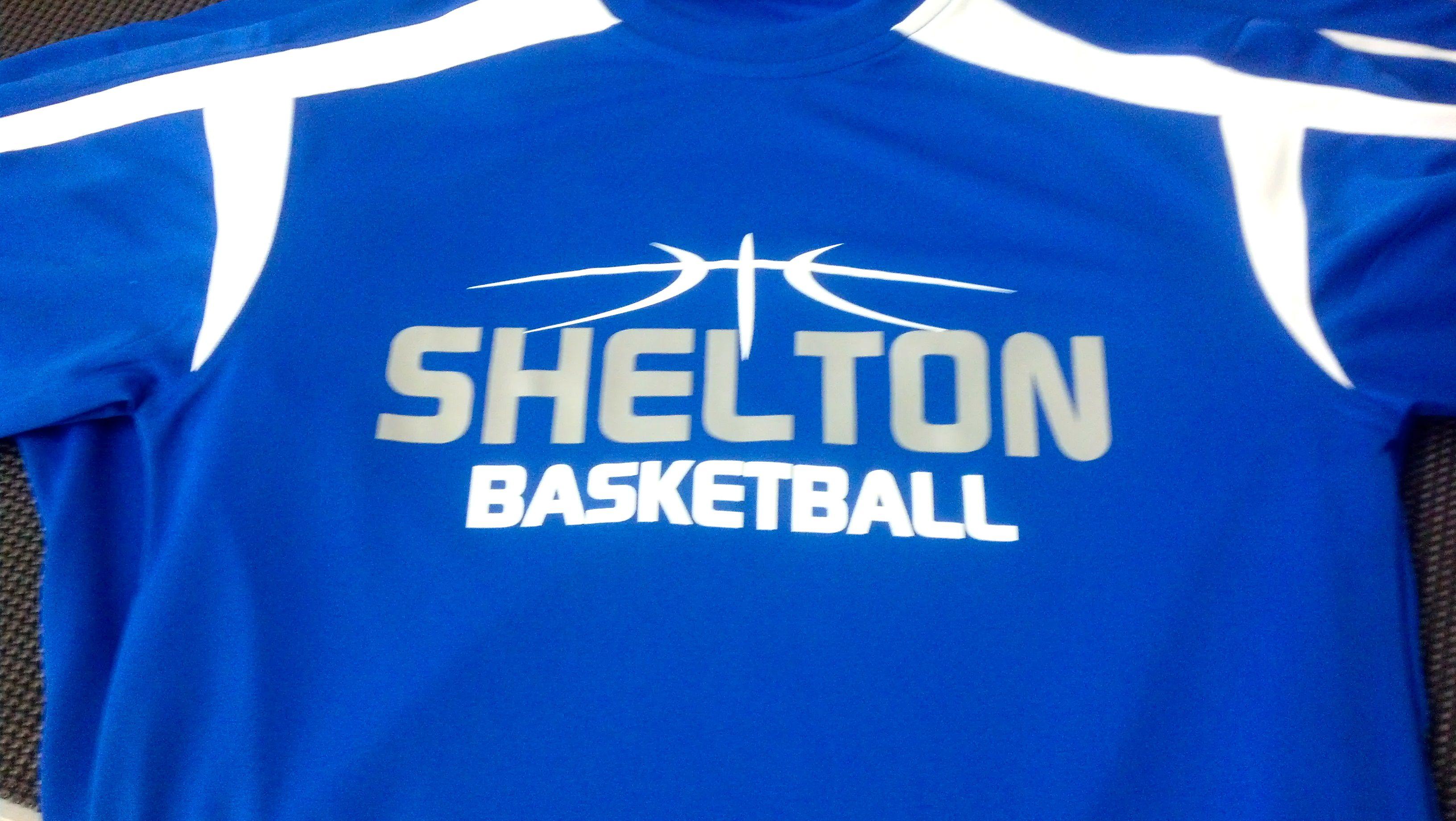 Shelton High School Dry Fit Basketball T Shirt Tee