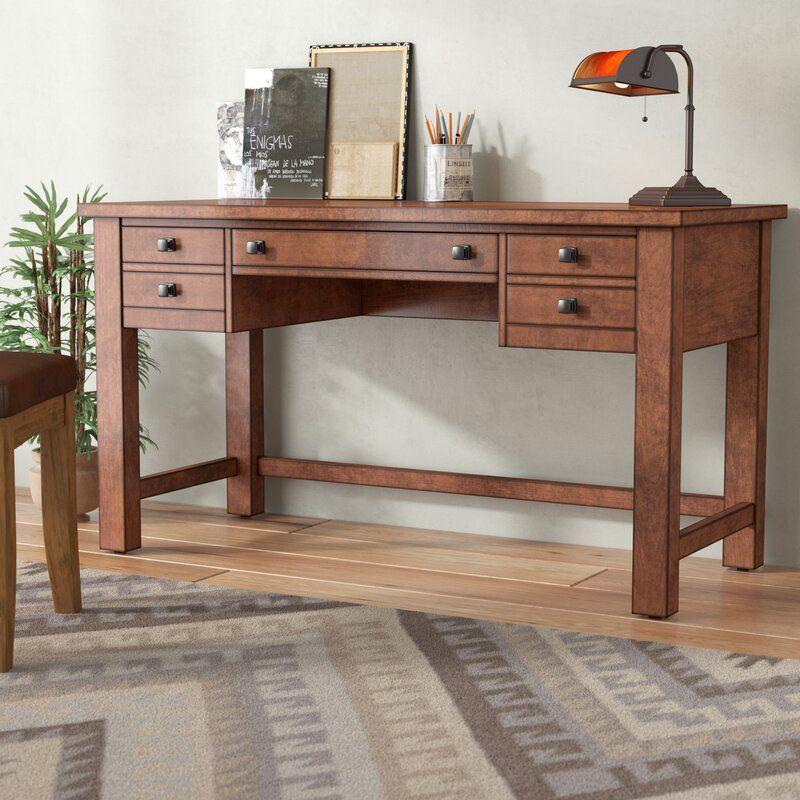 Rotherham Desk Solid Wood Desk Wood Desk Writing Desk Solid wood desks with hutch