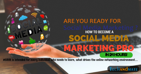 Social Media Marketing will offer you assistance with preparing for the extending scene of online networking rather simply concentrating on the standard distributors.