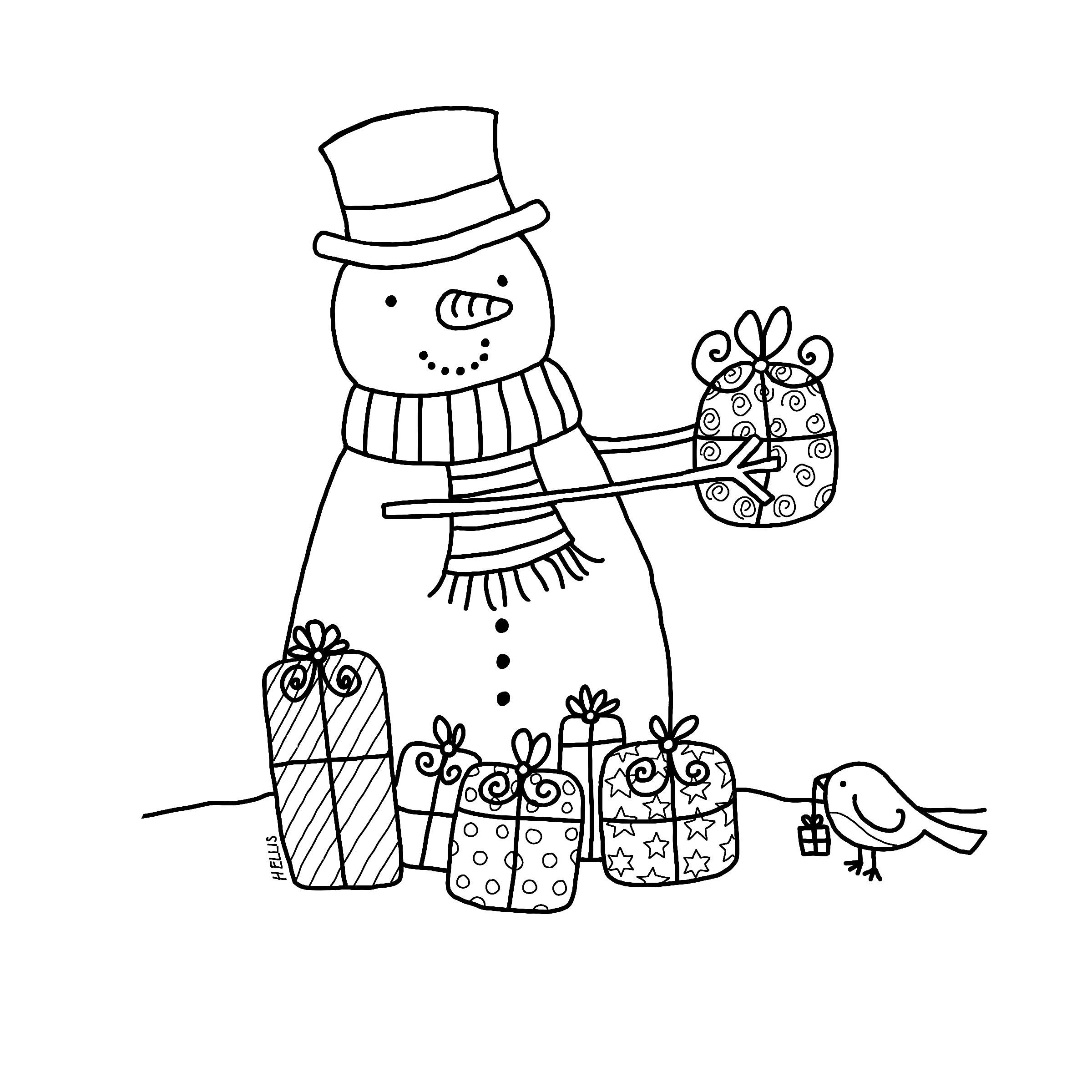 Black And White Christmas Card Templates Free Besttemplate123 Digital Stamps Digi Stamps Digi Stamp