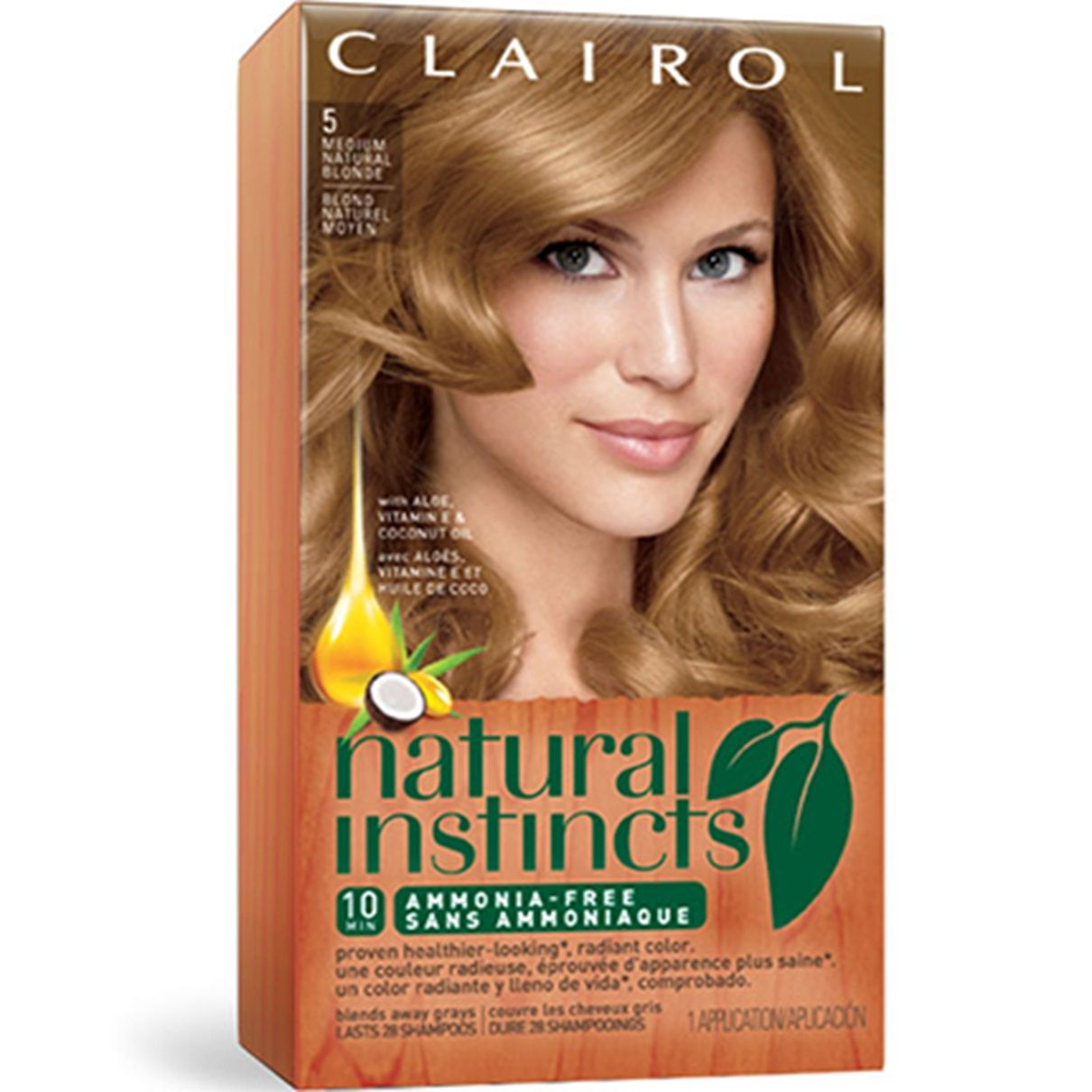 Natural Instincts Hair Color Clairol Natural Instincts With