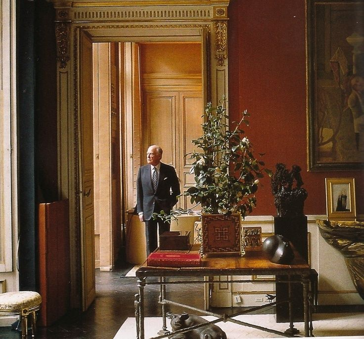 It S No Surprise That Jacques Grange Is Such An Amazing Interior Designer When You Find Out That