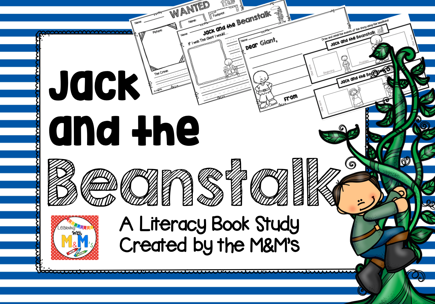Jack And The Beanstalk Literacy Book Study
