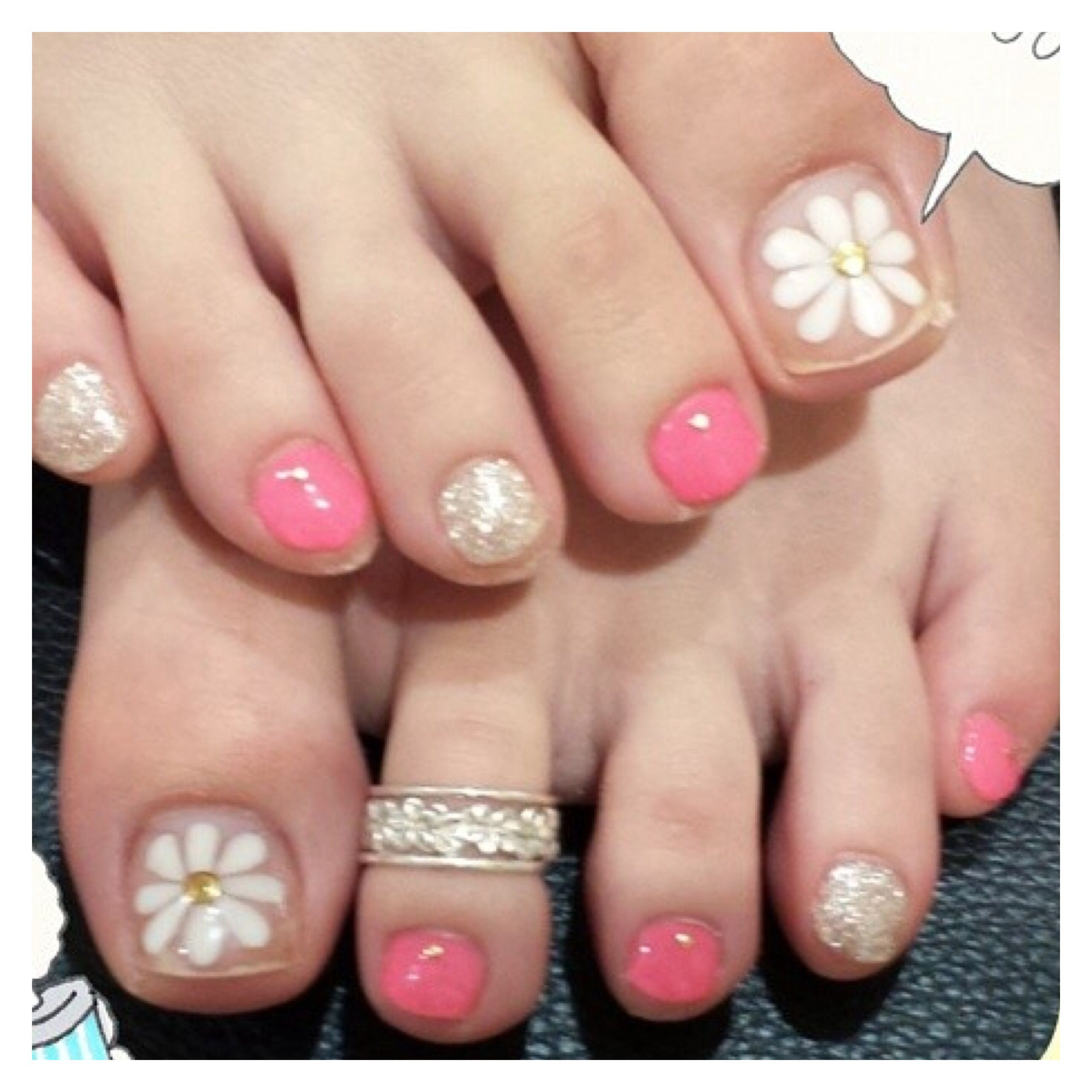 Pin by abe on toe nails design pedicure pinterest nail pedicure designstoe prinsesfo Choice Image