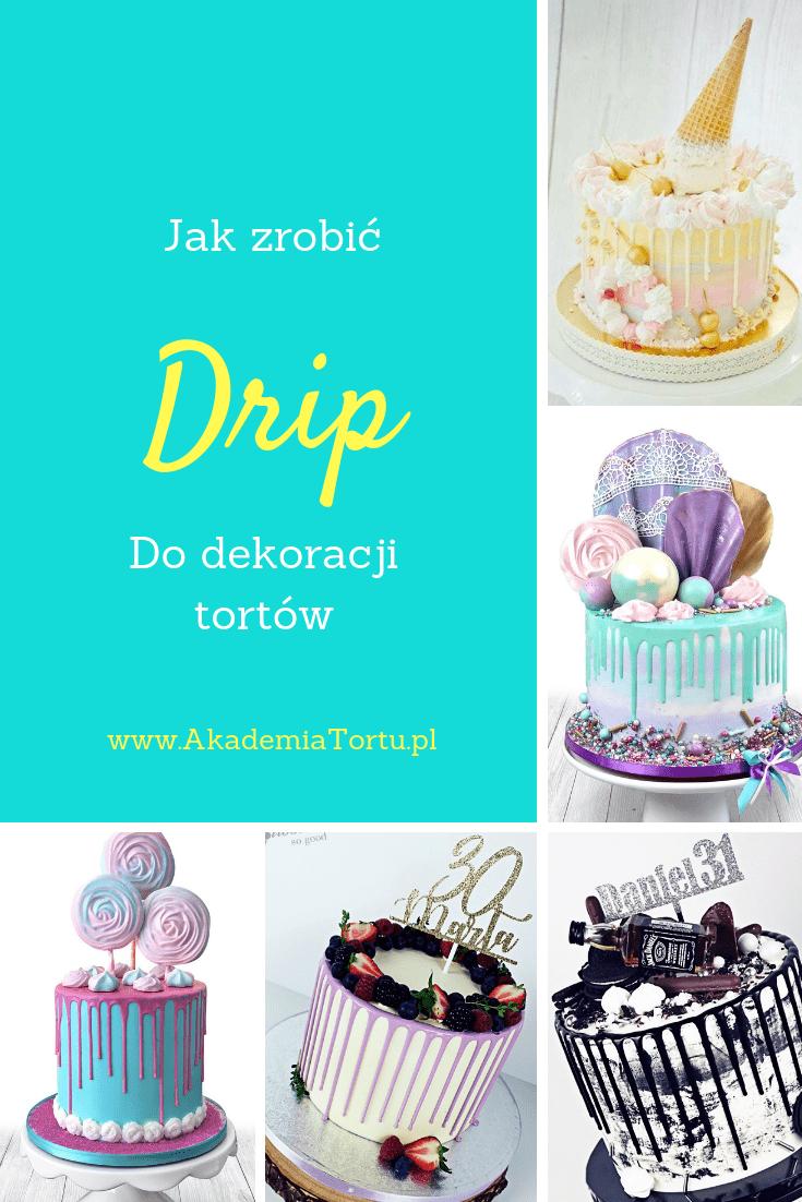 Drip Z Bialej Czekolady Recipe Cake Food Girl Shower