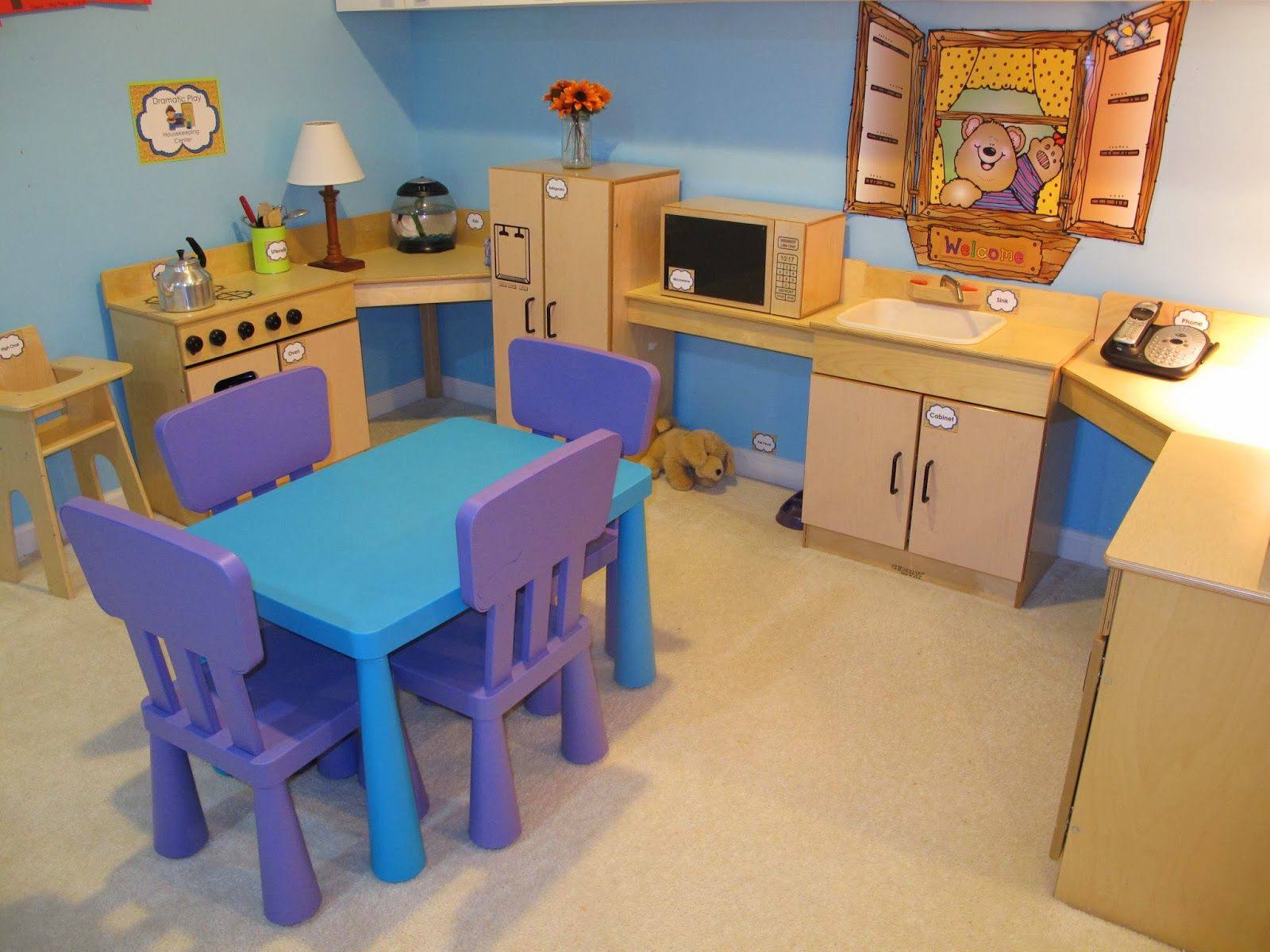 Classroom Kitchen Design : Preschool dramatic centers keep us busy our