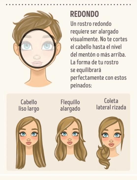 adelgaza tu rostro redondo con estos cortes de cabello