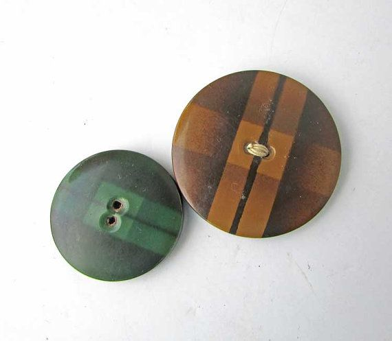 Hey, I found this really awesome Etsy listing at https://www.etsy.com/listing/261838169/two-different-vintage-1930s-plaid-design