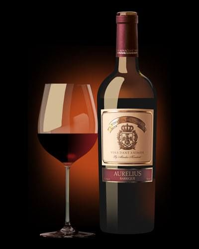 Kovacevic Aurelius The Richness And Harmony Of Flavor And Taste And Fruity Character Is Achieved By Mixing Two Premium Grape Varieties Caber Vin Billeder
