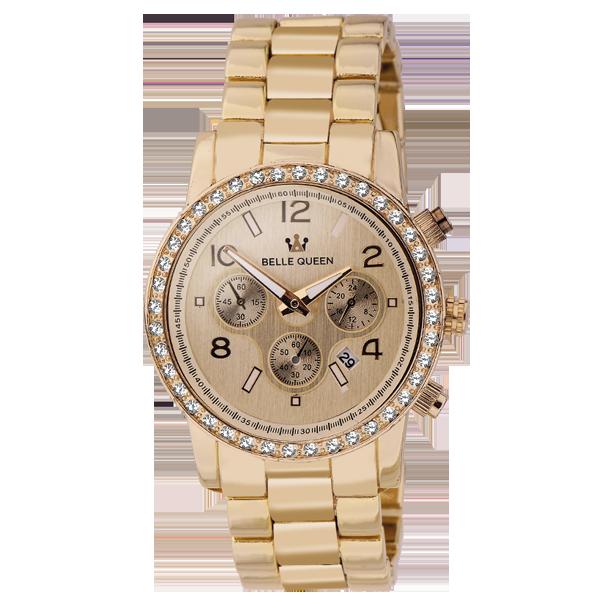reloj de la marca belle queen de cristian lay
