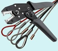Steel Cable Crimpers Crimp Tool   TECNI-CABLE Wire Rope Assembly ...