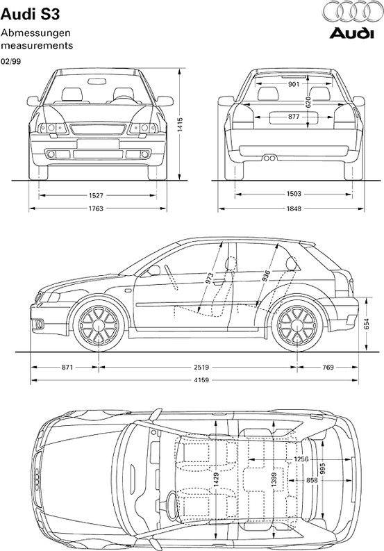 Car blueprint | Blueprints | Pinterest | Cars, Vw and Vehicle