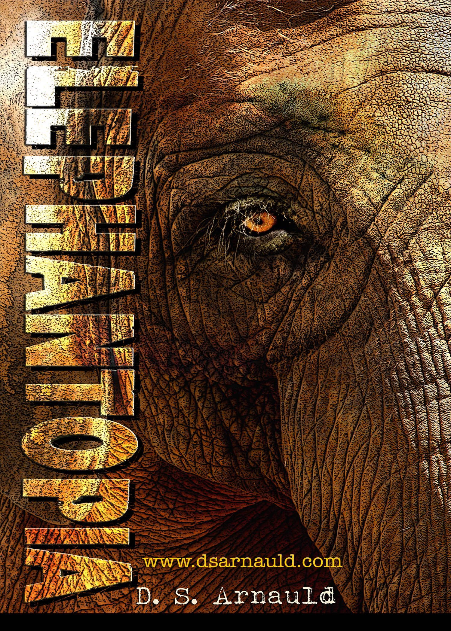 Cover image for the young adult novel Elephantopia by D.S. Arnauld  #elephant #elephantfiction #tween