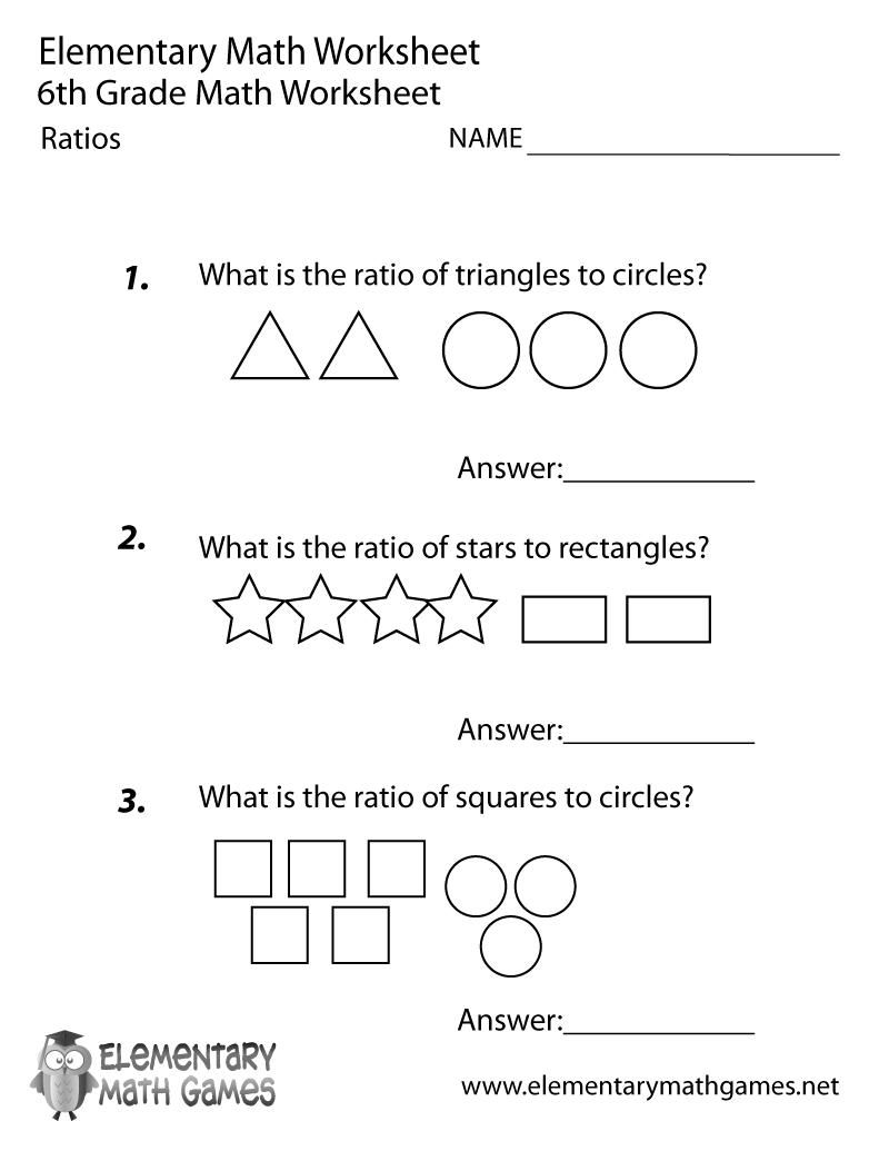 16 Printable Math Worksheets For 6th Graders In 2020 6th Grade Worksheets Printable Math Worksheets Free Printable Math Worksheets