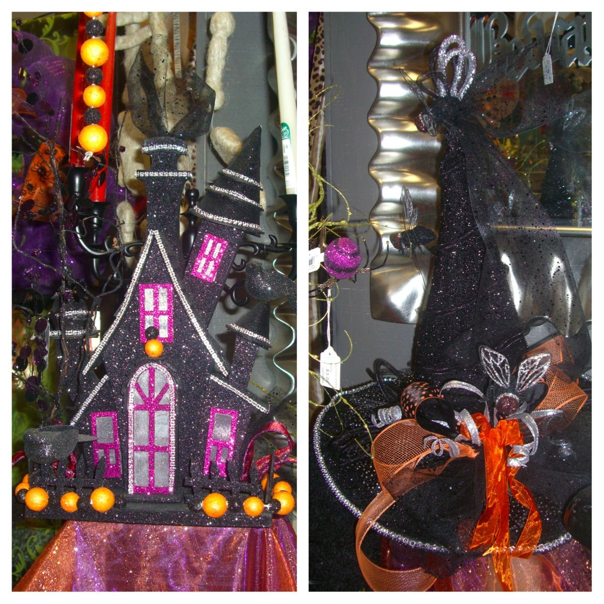 Haunted House And Witch Hat (With Images)