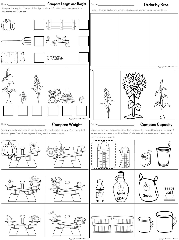 1st Grade Measurement Worksheets Math Worksheet For Kids Kindergarten Math Kindergarten Worksheets Kindergarten Worksheets Printable [ 1500 x 1125 Pixel ]