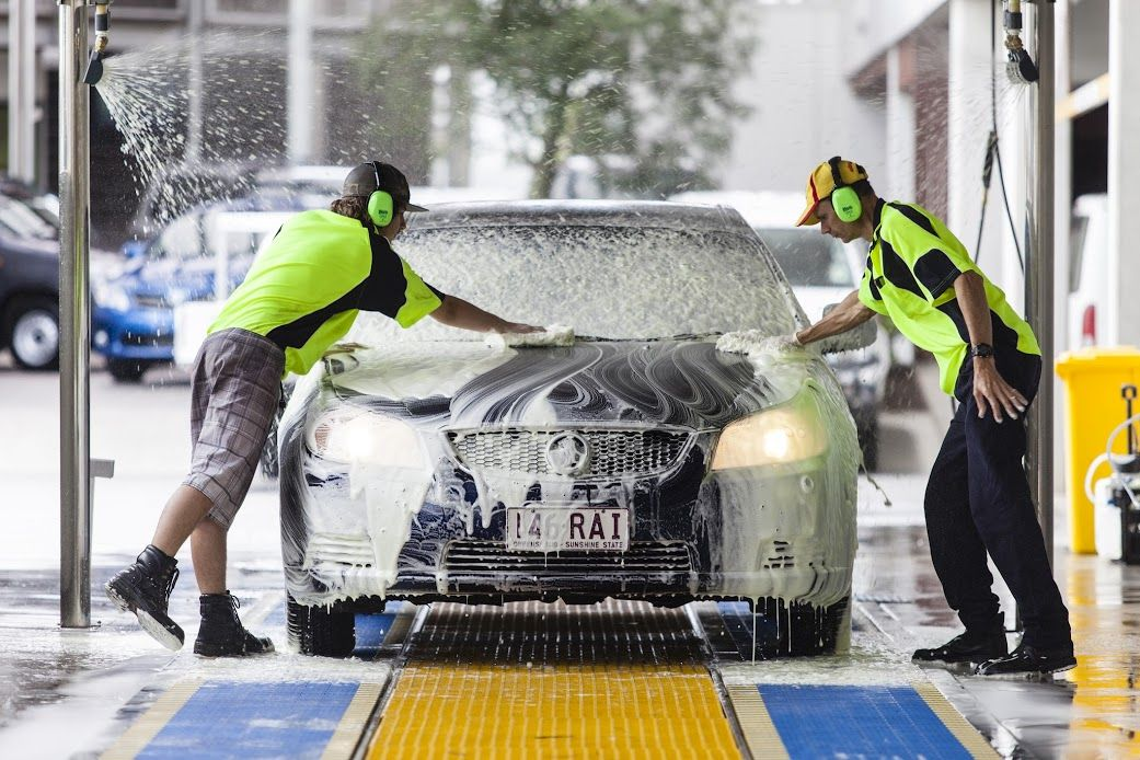 Latest News We have Car wash services