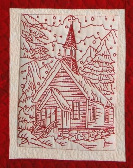 Advanced Embroidery Designs Free Projects And Ideas Christmas Eve