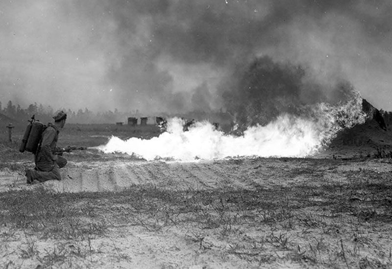 flamethrowers in world war 1 - photo #11