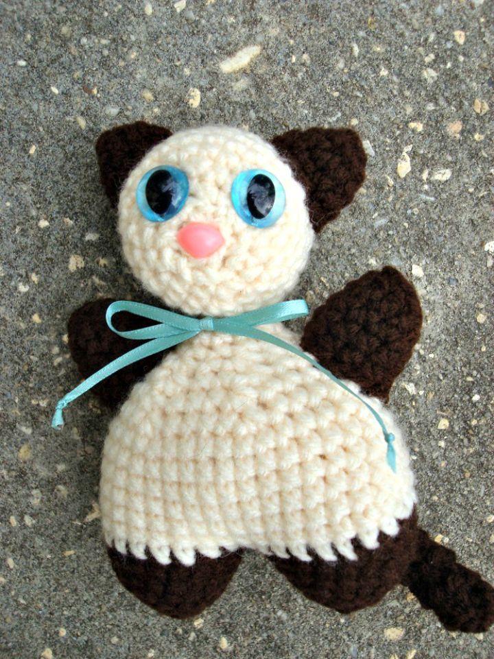 Crochet Chubby Cat Pattern Crochet Cat Patterns Recetas