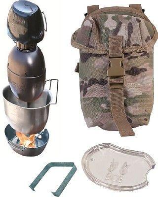 Bcb Bushcraft Crusader Cooking Unit Silver