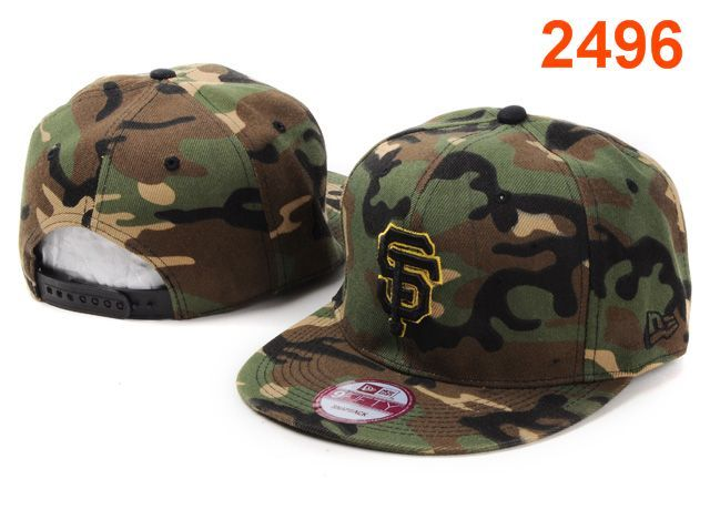 New Era MLB San Francisco Giants Camo Snapback Hats Caps 3964! Only  8.90USD 41dc1638583